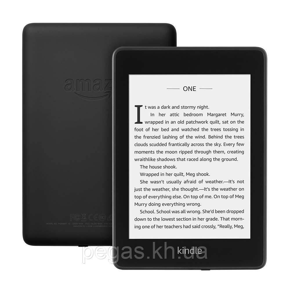Электронная книга Amazon Kindle Paperwhite 2019, 10 поколение черная. Водонепроницаемая