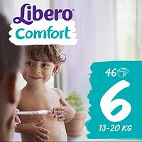 Подгузники Libero Comfort XL 6 (13-20 кг) 46 шт.