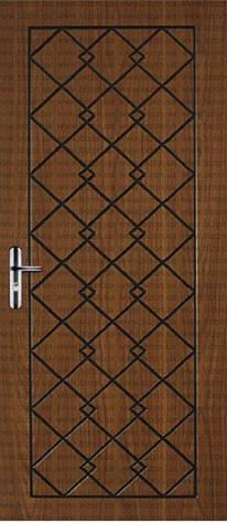 Двері квартирні, модель 133 Преміум 870*2050, коробка 110 мм, метал 2 мм, VINORIT, замок MOTTURA, глухі, фото 2