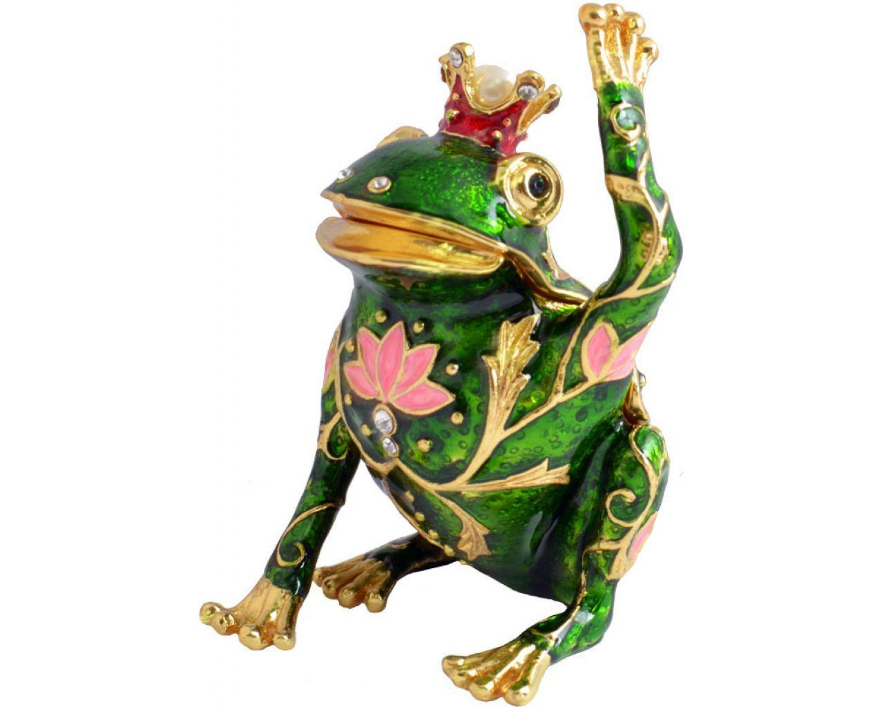 Шкатулка для украшений царевна лягушка