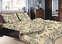 Комплект постельного белья Zastelli Gold бязь полуторный 107 GOLD USA арт.14808