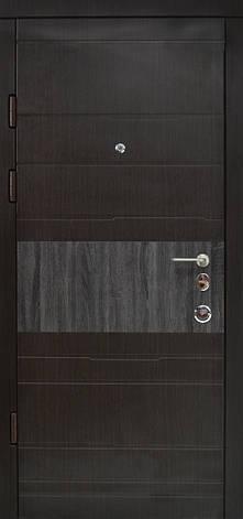 Двери квартирные, модель 137 Премиум, 970*2050, коробка 110 мм, металл 2 мм, замок MOTTURA, накладки 16 мм, фото 2