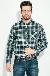 Рубашка мужская, button-down в клетку 276V003