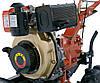 Дизельный Двигатель ЗУБР 186F-Е 9 л/с, запуск электро+ручной, охлаждение воздушное, производитель ZUBR, фото 10