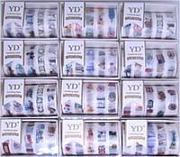"""Скотч декоративний YD-128 """"Міста, прапори"""" 15ммх1000см в коробці (ціна за 1шт) уп5 бл60"""