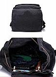 Рюкзак великий чорний 90 л. Lijiebao, фото 6