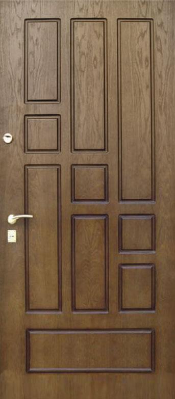 Двери квартирные, модель 143 Комфорт 970*2050, коробка 110 мм, KALE, 3 контура уплотнения