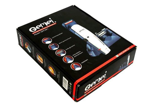Стайлер GM 591-a Gemei (Мультитрммер)