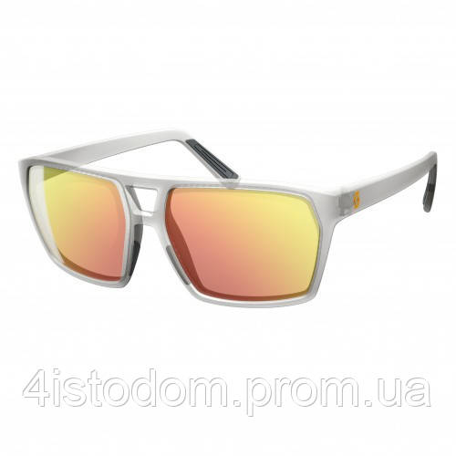Спортивные очки SCOTT TUNE grey translucent red chrome