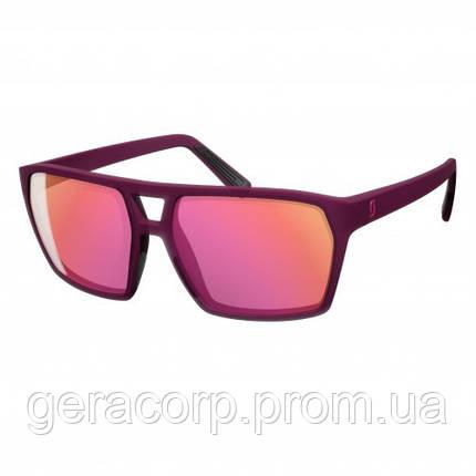 Спортивные очки SCOTT TUNE purple pink chrome, фото 2