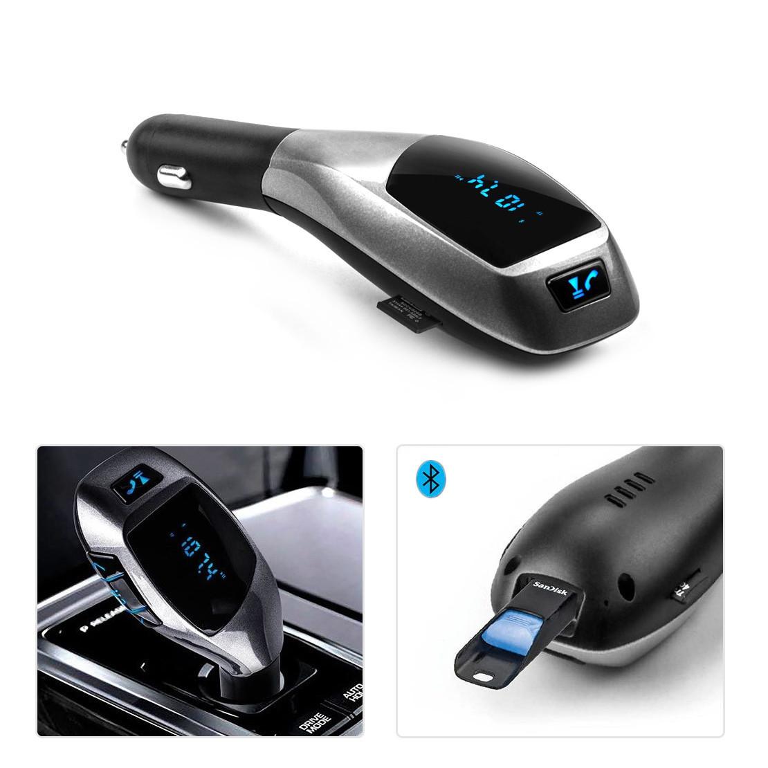 FM Модулятор Bluetooth Car Charger X5