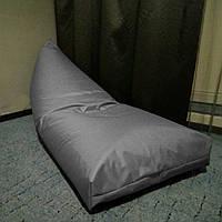 """Кресло мешок лежак """"Пирамида"""" серый"""