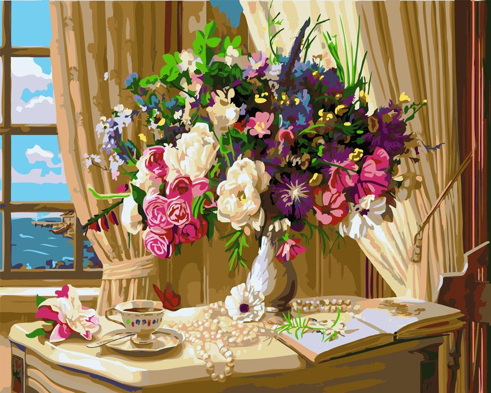 Картина по номерам Букет на столе 1 40 х 50 см (BK-GX26046)
