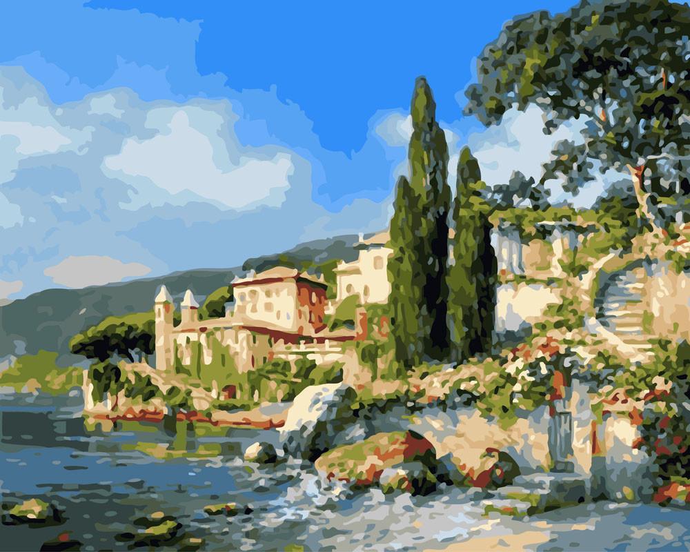 Картина по номерам Берег озера 40 х 50 см (BK-GX26473)