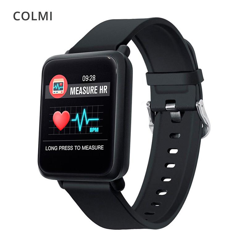 Смарт-часы ColMi M28 с цветным 1.3 дюймовым OLED экраном (Черные)