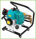 Бензиновый насос SADKO HPWP 34 предназначен для эффективного полива садов.