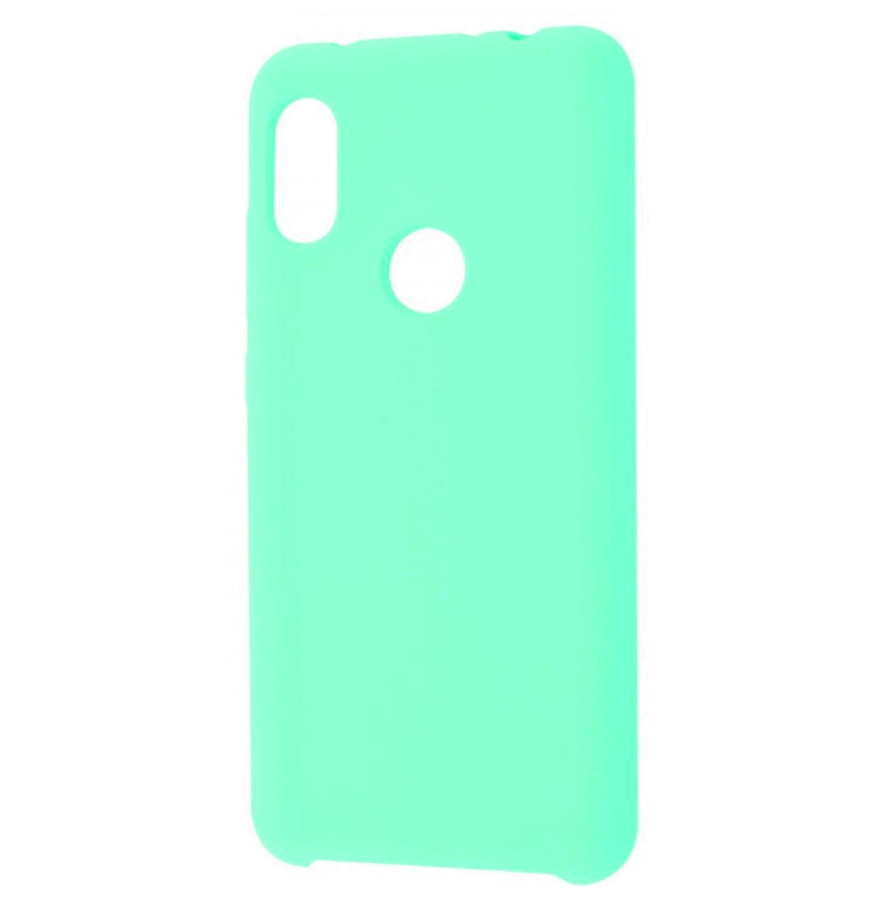 Чехол-накладка Original Silicone case на Xiaomi Redmi Note 6 Pro Mint