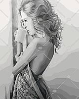 Картина по номерам Наедине с мечтами 40 х 50 см (KHO4545)
