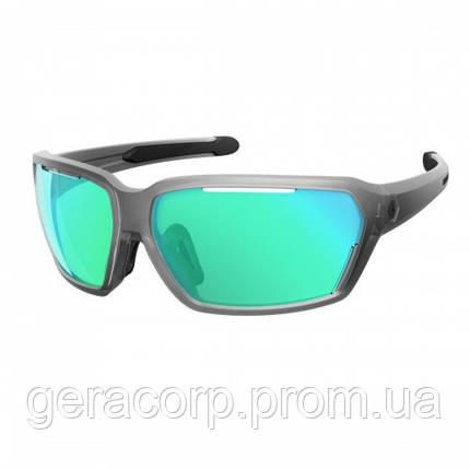Спортивные очки SCOTT VECTOR  clear matt/blue blue chrome amplifier, фото 2