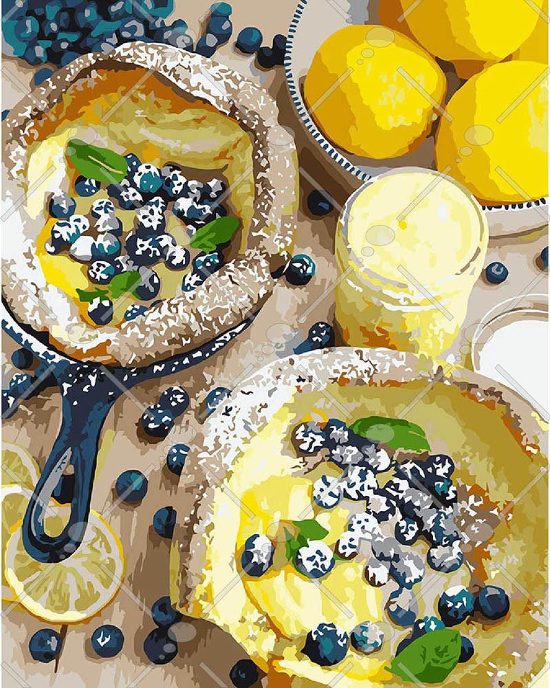 Картина по номерам Яркий завтрак 40 х 50 см (KH5542)