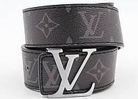 Ремень мужской кожаный Louis Vuitton ширина 40 мм. реплика 930831