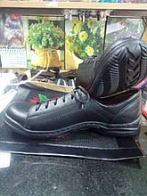 Туфли ботиночки  городские натуральная кожа на широкую ножку