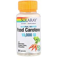 Solaray натуральный каротин из растений 10.000 IU 30 капс