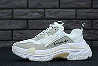 "Кроссовки Balenciaga Triple S Sneaker ""White"" (реплика А+++ ), фото 1"