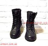 Армейские ботинки, берцы, качество! Натуральная кожа. Размеры 40-45., фото 6
