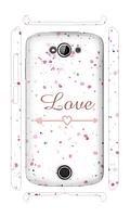 Чехол для телефона влюбленность Acer Z530s силиконовый пластиковый