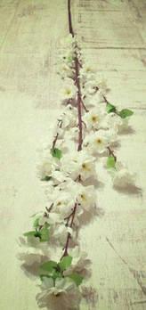 Ветка цветущей вишни искусственная 125 см
