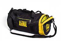 Спортивная сумка для бодибилдинга ANIMAL 40 литров, черная