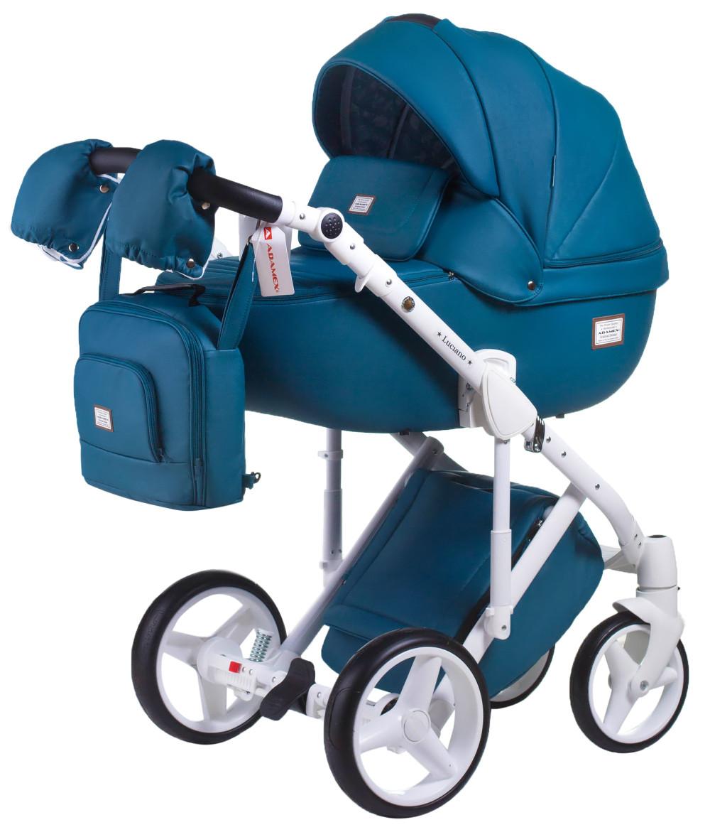 Дитяча універсальна коляска 2 в 1 Adamex Luciano