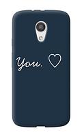 Чехол для телефона люблю тебя Motorola G4 силиконовый пластиковый