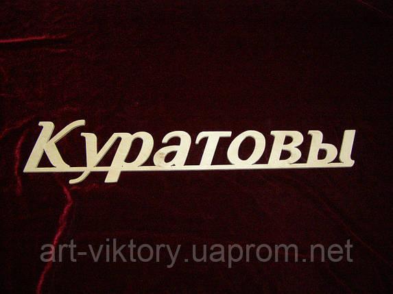 Фамилия, надписи, фото 2