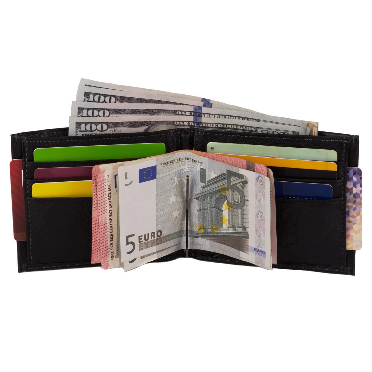 b6b03a413895 Мужской кожаный кошелек с зажимом Homme Kafa (555-12): продажа, цена ...