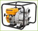 Мотопомпа SADKO WP 80Т - специальный бензиновый насос для перекачки больших объемов воды высокой степени загря