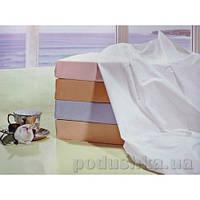 Простынь на резинке Word of Dream перкаль 160х200 см белый
