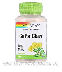 Solaray, cat's Claw, 500 mg, 100 VegCaps