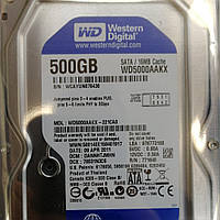 Жесткий диск Western Digital Blue 500GB 7200rpm 16MB WD5000AAKX 3.5 SATAIII Smart 100% как новый 57 дней