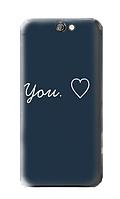 Чехол для телефона люблю тебя HTC A9 силиконовый пластиковый