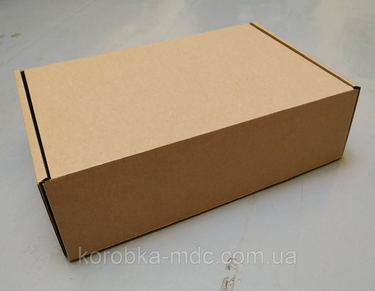 Коробка бурая 250х170х75  (шкатулка)
