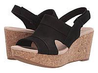 Туфли на каблуке Clarks Annadel Ivory Black Nubuck