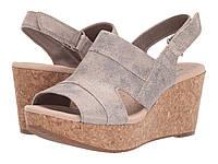 Туфли на каблуке Clarks Annadel Ivory Pewter Suede