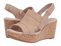 Туфли на каблуке Clarks Annadel Ivory Sand Nubuck