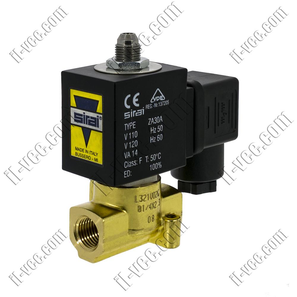 Электромагнитный клапан SIRAI L321V02G-ZA30A G1/4х2,3 110VAC