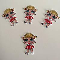 Кабошон « Лялька Лол (LOL) Cheer Captain » Лол -8