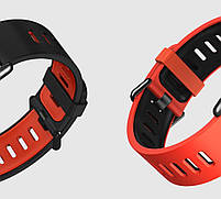 Amazfit Pace / Stratos / Stratos 2 Ремешок Red with black для смарт часов, ширина - 22 мм., фото 3