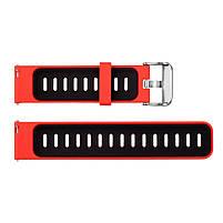 Amazfit Pace / Stratos / Stratos 2 Ремешок Red with black для смарт часов, ширина - 22 мм., фото 4