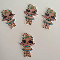 Кабошон « Лялька Лол (LOL) Luxe» Лол -12